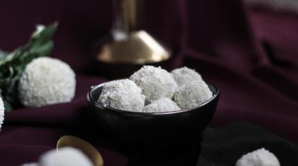Hướng dẫn làm món kẹo dừa sô cô la trắng